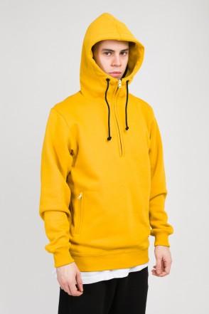 Mask Hoodie Mustard
