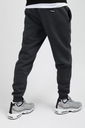 Basic Pants Dark Gray Melange