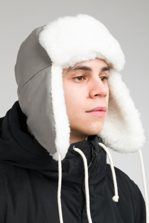 Core Ushanka-hat Ash Gray