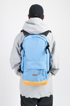Action Backpack Sky Blue/Beige
