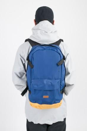 Action Backpack Blue/Beige