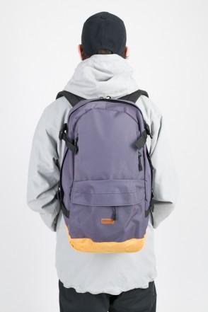 Action Backpack Dark Gray/Beige