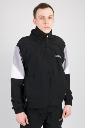 Olymp Track Jacket Black/Gray/White