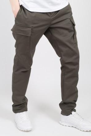 Cargo Trousers Dark Bog Green