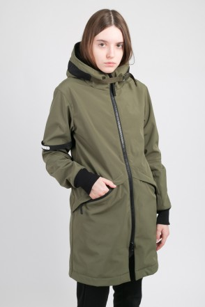 Allover 2 COR Jacket Bog Green