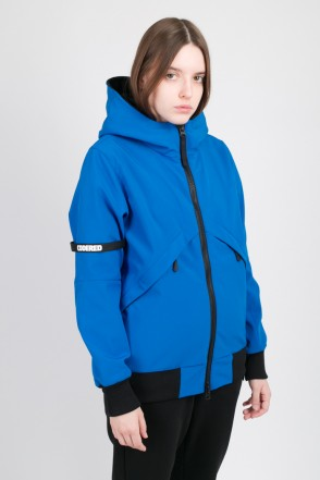 Get High Lady Jacket Blue