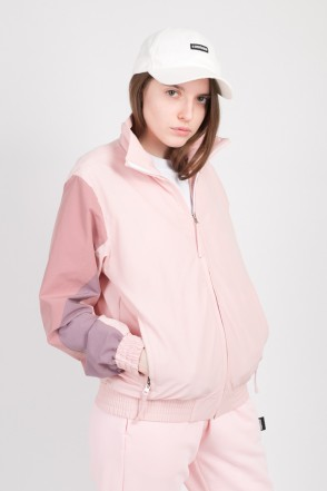 Olymp Lady Track Jacket Pale Pink/Dark Pink/Cappuccino