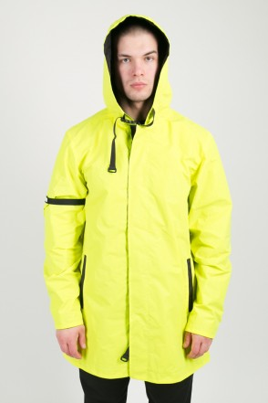 Upfront Raincoat Fluorescent Reflective Lemon