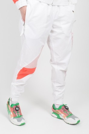 Jogger 92 Lady Pants White/Pale Pink/Salmon