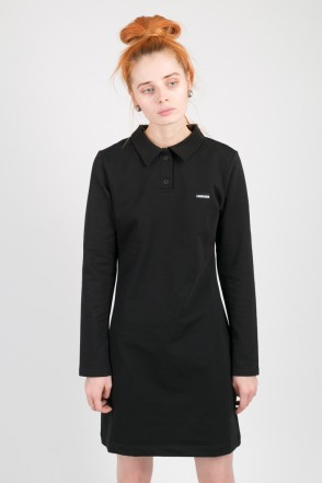 Adress Polo Dress Black