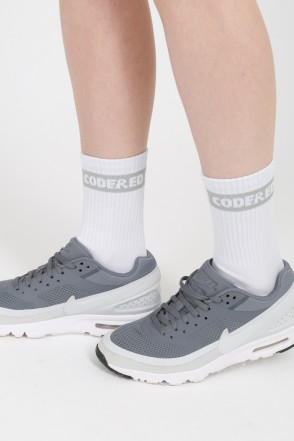 Boxlogo Socks White/Light Gray Logo