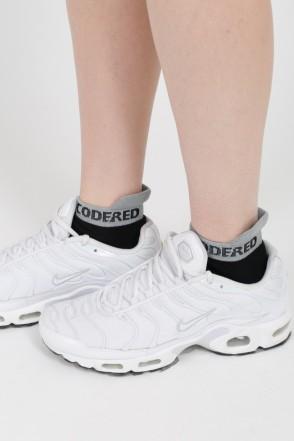 Носки Shortline Sock Черный/Белая Полоса