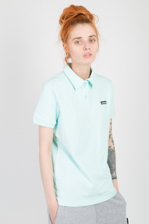Side Polo T-shirt Mint Green