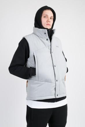 Track Vest Light Gray