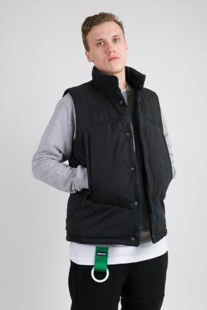 Track Vest Black