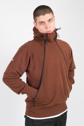 A-Mask COR Hoodie Brick Red
