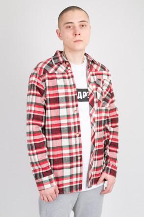 Рубашка Harbor Красный/Белый/Зеленый