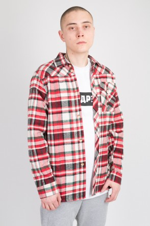 Harbor Shirt Red/White/Green
