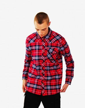Harbor Shirt Blue/Red/White